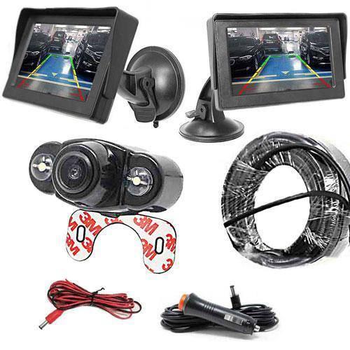 CLP Rückfahrkamera und Monitor inkl. 10 Meter Videokabel